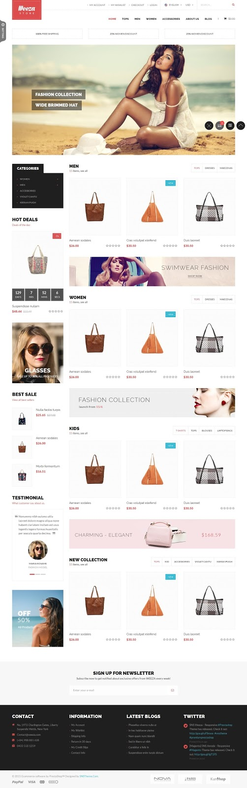 Best Responsive Fashion Store Theme