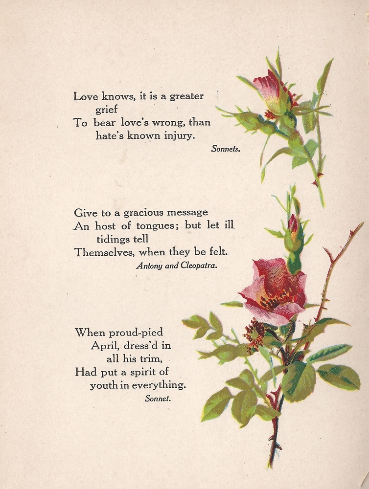 Shakespeare Quotes About Flowers Imagessure