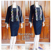 Blouse Batik DBT 4063 Harga Reseller : Rp 55.000,-