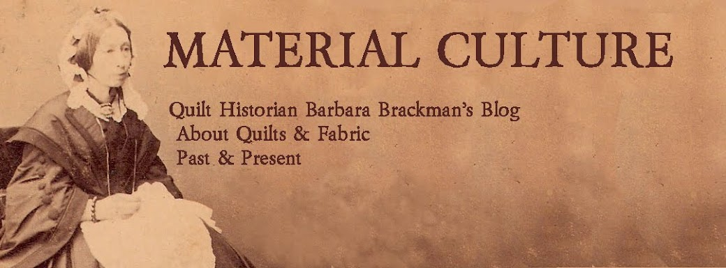 Barbara Brackman&#39;s <br> MATERIAL CULTURE