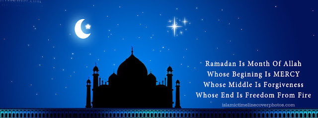 Ramadan 2016 FB Timeline Cover With Ramdan Quotation