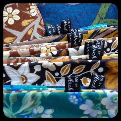 Vintage fabric salmagundi