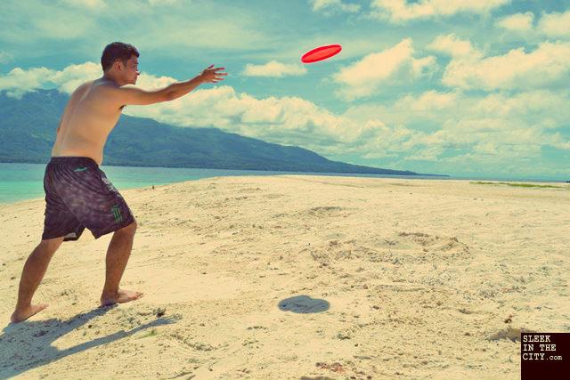 camiguin mantigue island frisbee