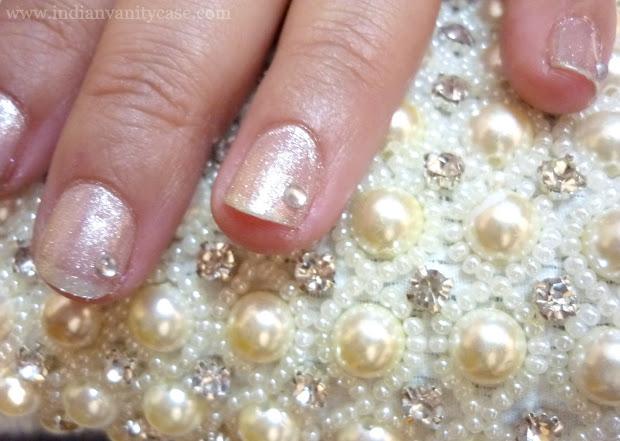 indian vanity case bridal nails