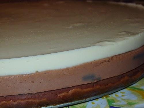 tarta tres chocolates en thermomix