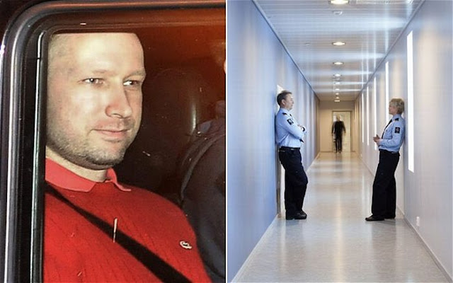 Norway Killer Could be Held in Luxury Prison