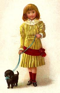 vintage stock girl image