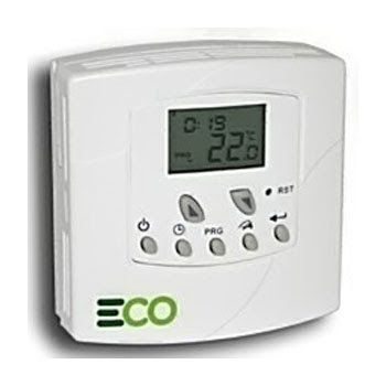 The energy saving RS4 Thermostat - Programmable Room Thermostat, ET2 heat/cool 5+1+1 day room thermostat