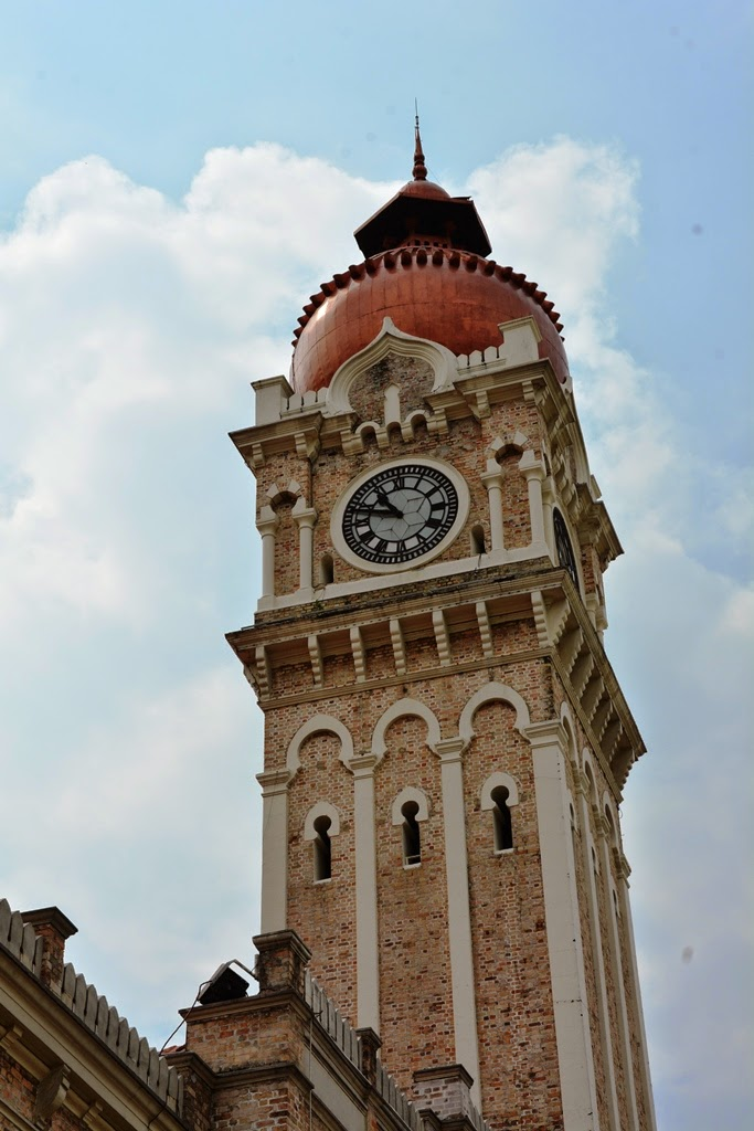 Sultan Abdul Samad building, Kuala Lumpur clock tower