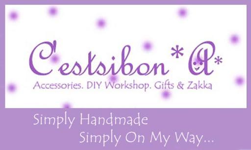 C'estsibon*A*---Simply Handmade, Simply On My Way...