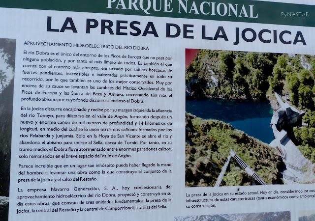 Presa de La Jocica Asturias