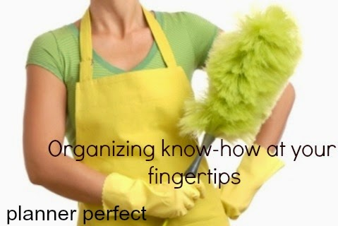 organizational tips all in one place