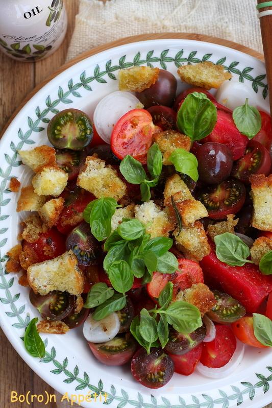 panzanella panzanella to włoska sałatka wywodząca się z toskanii ...