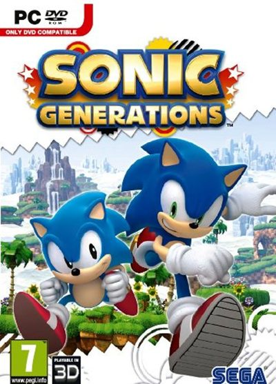 Sonic Generations 2011 PC Full Español Repack 2 DVD5 + Update 4