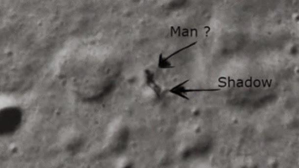 Detectada sombra de um extraterrestre na Lua? (Com video)