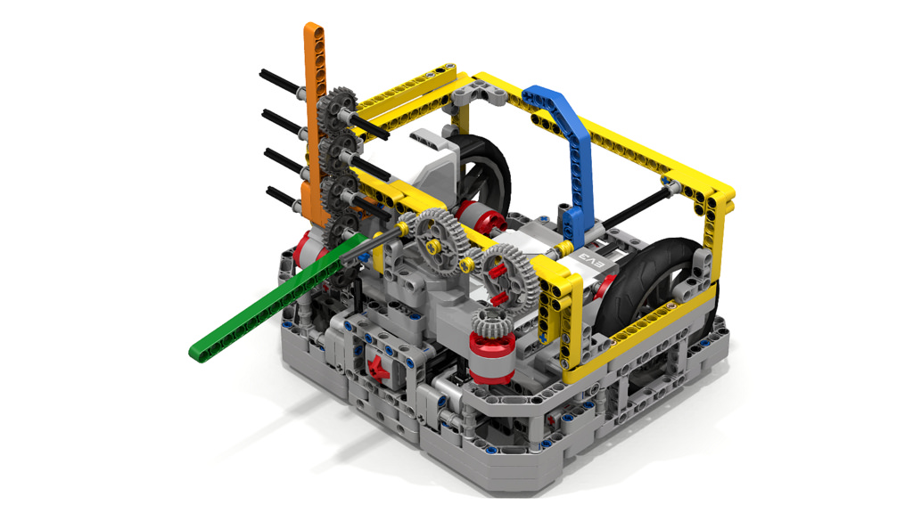 Vance Panthers First Lego League Robot Design