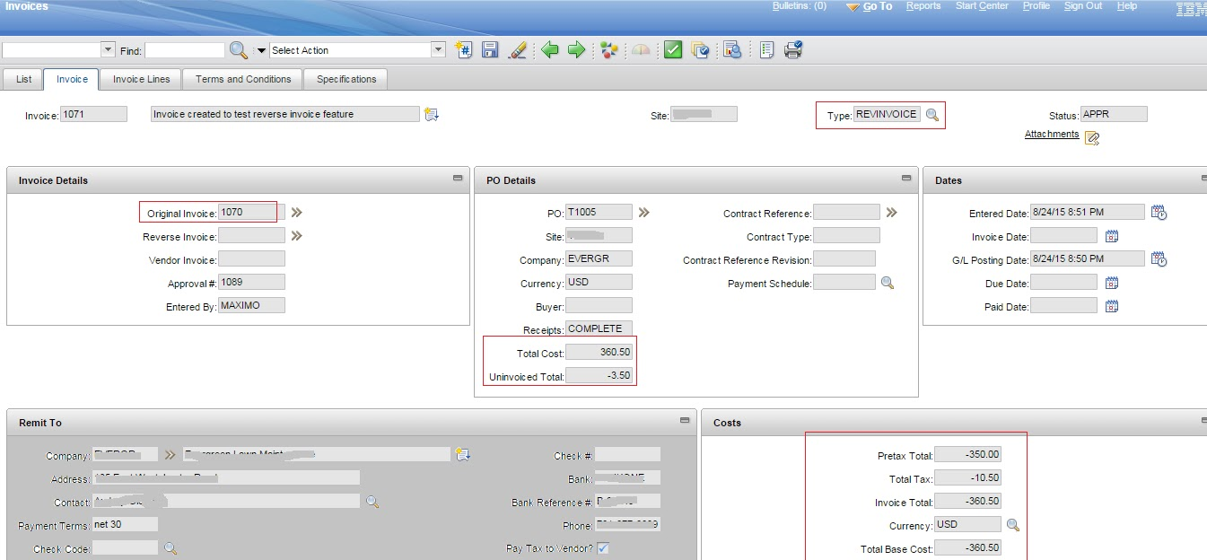 amatuermax: august 2015, Invoice templates