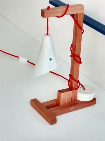 Luminaria de madeira