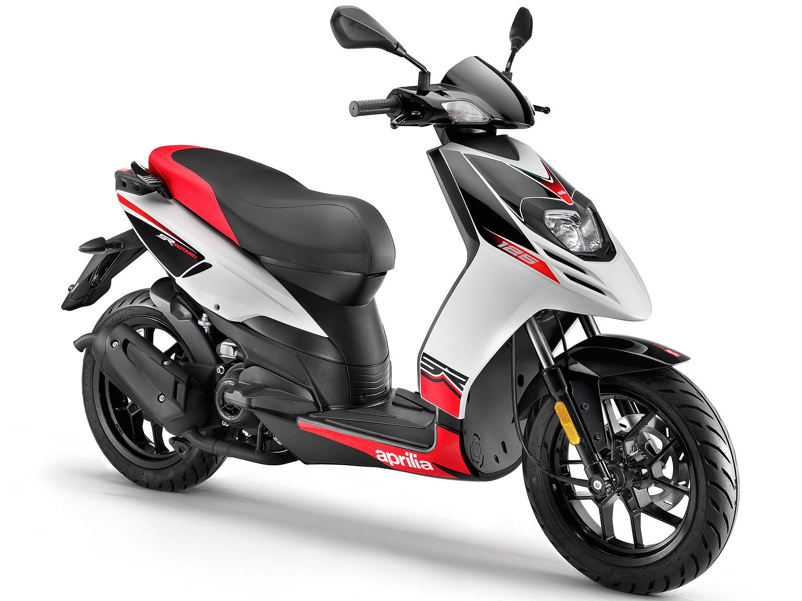 2012 aprilia sr motard 125 scooter picture insurance information. Black Bedroom Furniture Sets. Home Design Ideas