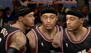 NBA 2K13 Cyber Face Micheal Beasley