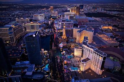 Hermosa fotografía de Las Vegas, Nevada, USA.