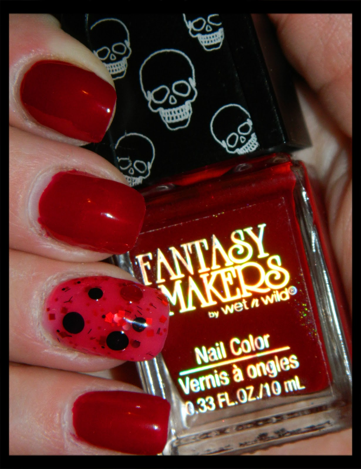cutting edge polish : wet and wild- fantasy makers bloody Mary