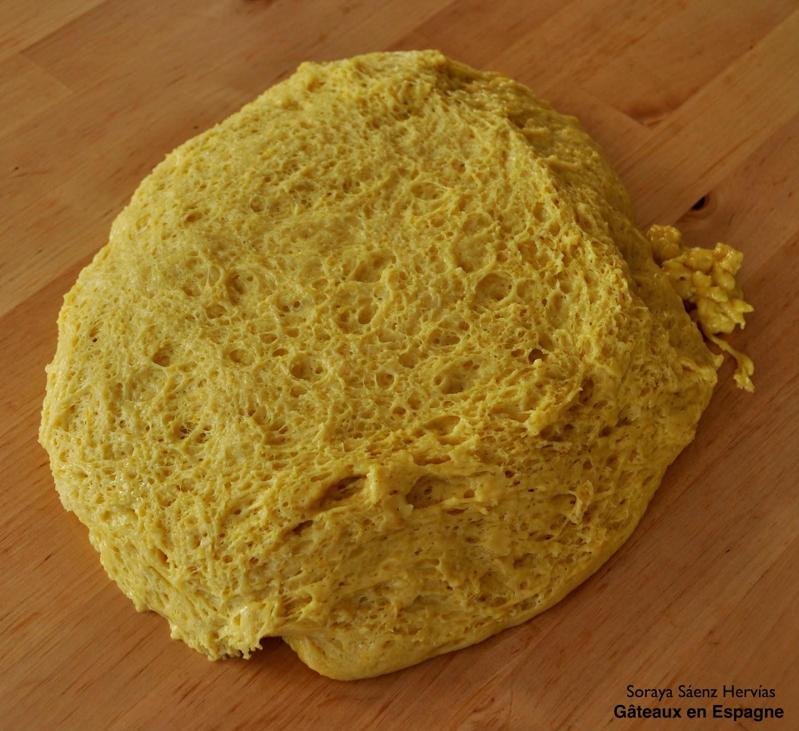 processus pâte brioche