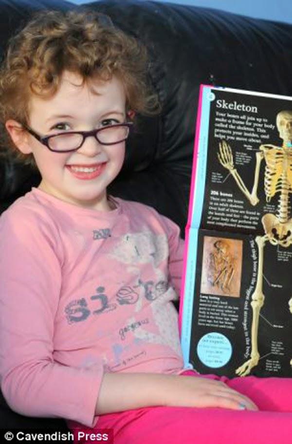 Niña de 6 años quedará ciega por una enfermedad rara