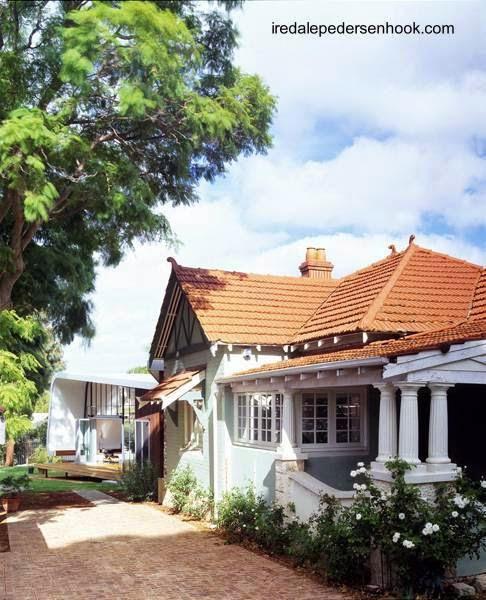 Vista del bungalow original