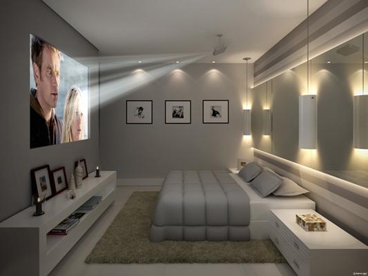 decoracao de interiores salas e quartos:sugestões de decoração de quartos, com cores neutras, tranquilas e