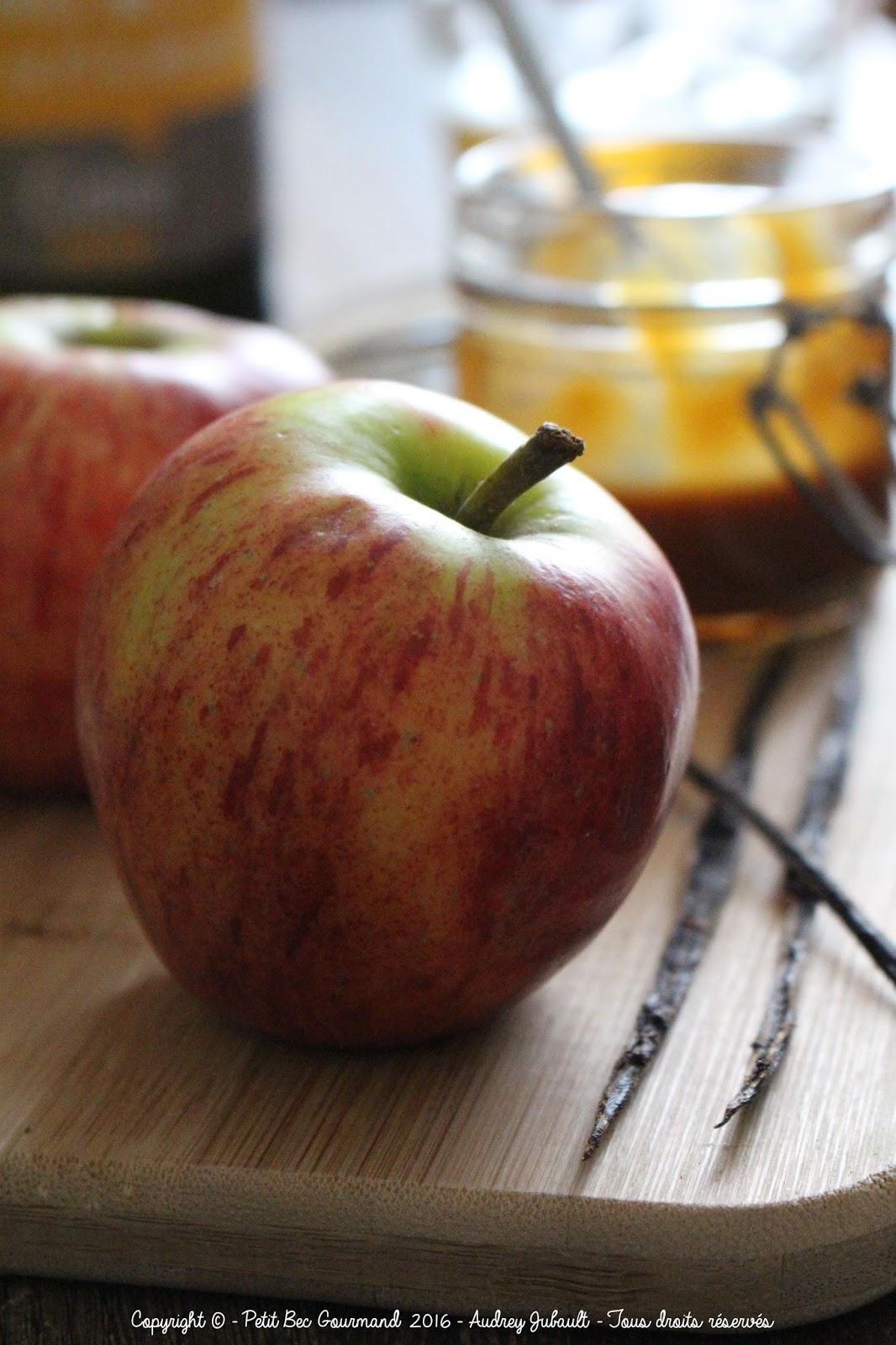 Aumônières aux pommes et cidre
