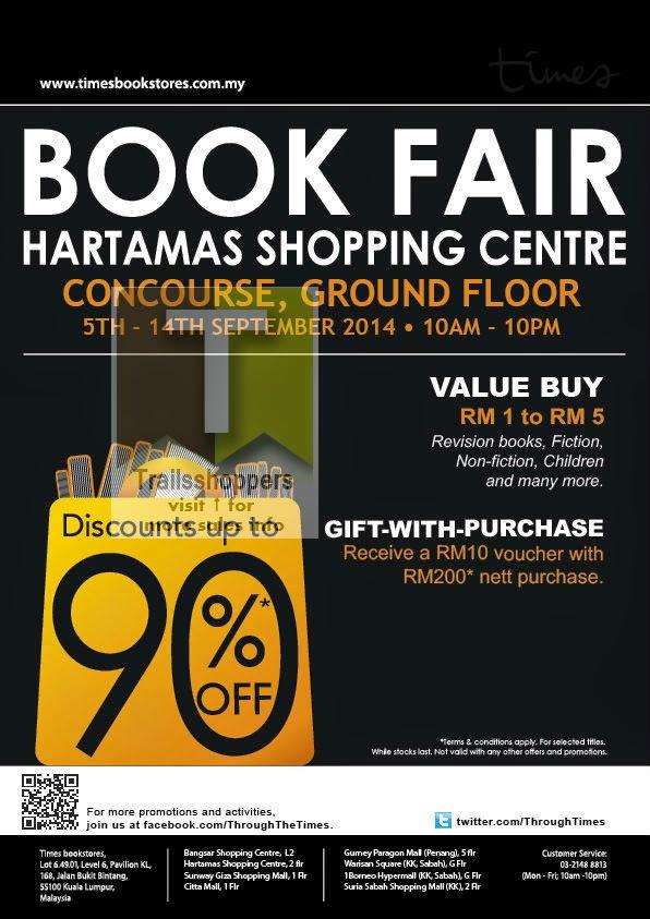Times Book Fair Hartamas Sri Kuala Lumpur
