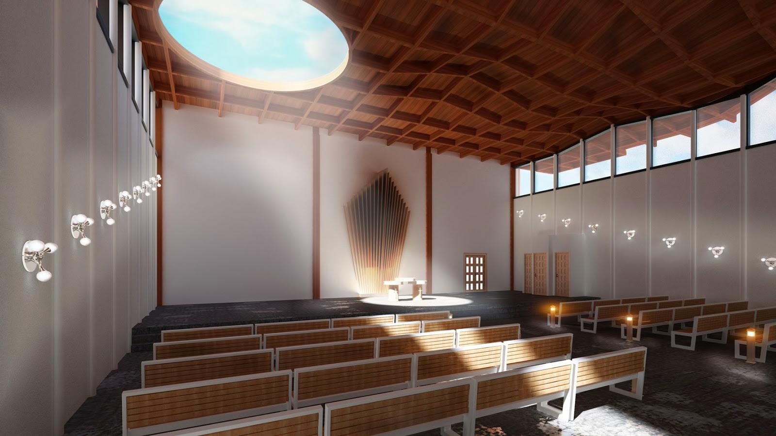 Reconstrucci n de un edificio industrial en la iglesia for Diseno de interiores guadalajara