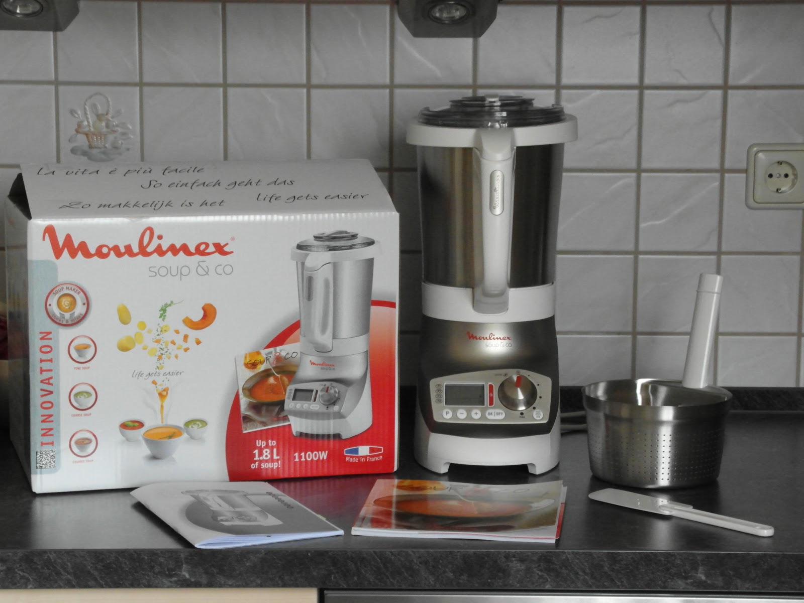 Auf herz und nieren moulinex lm9031 standmixer koch mix - Moulinex soup and co ...