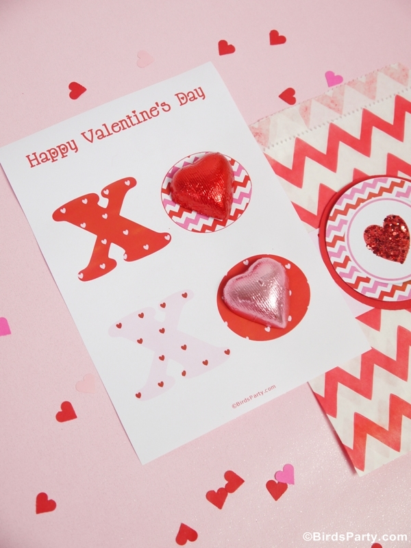 Attractive Free Card Making Ideas And Printables Part - 13: Four Valentineu0027s Day DIY Cards With Free Printables - BirdsParty.com