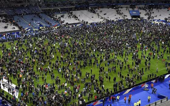 terror attack at England France match