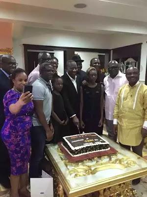 Photos from Fmr.President Jonathan's birthday celebration