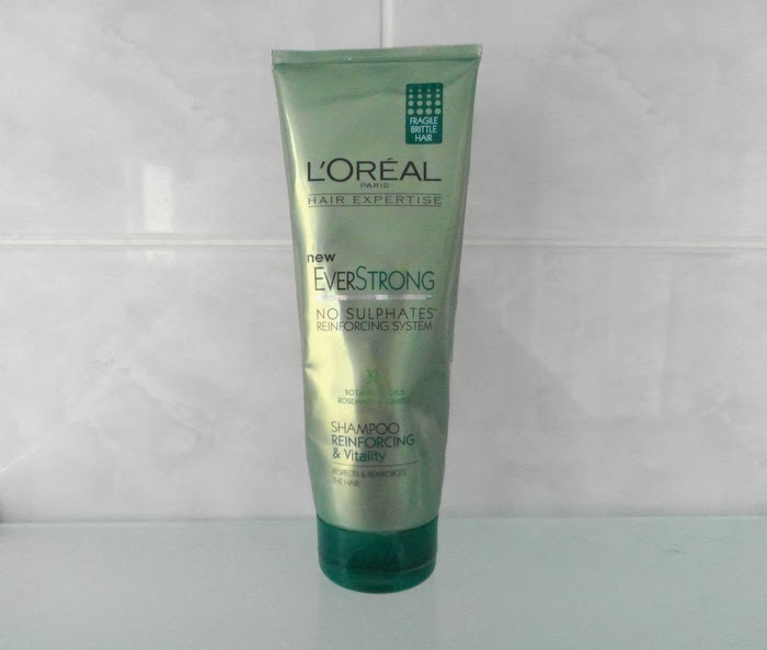 Review: L'Oreal EverStrong No Sulphates Reinforcing and Vitality ...
