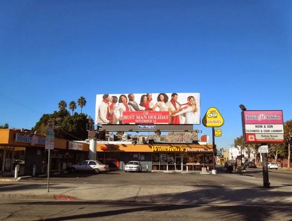 Best Man Holiday movie billboard