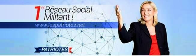 Les Patriotes, 1er réseau social militant