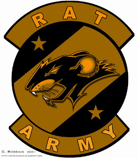 Rat Army Logo or Insignia, based on Ender's Game Movie