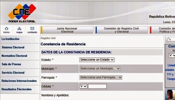 Ciudadanos: Pasos para descargar e imprimir la Carta de Residencia ...