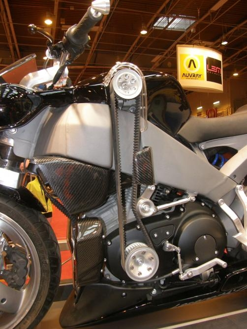 Lazareth's supercharged Buell XB12S Custom Motorcycle