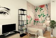 appartement avec chambre dans alcove