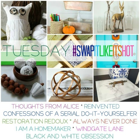 Swap It Like It's Hot – Thrifted Makeovers (Tuesday)