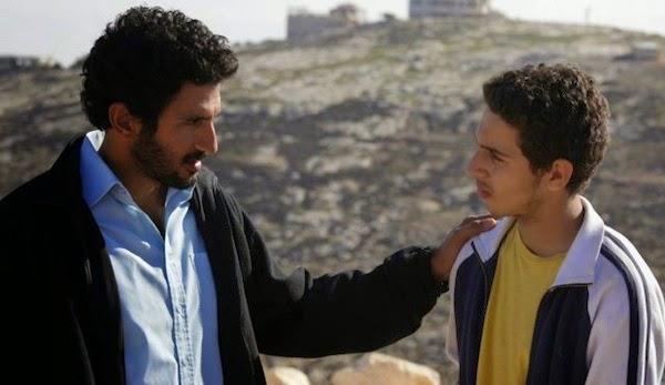 Tsahi Halevi and Shadi Mar'i in Bethlehem