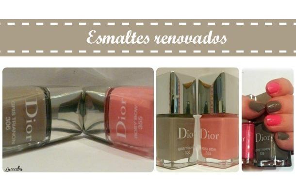 esmaltes Dior primavera verano