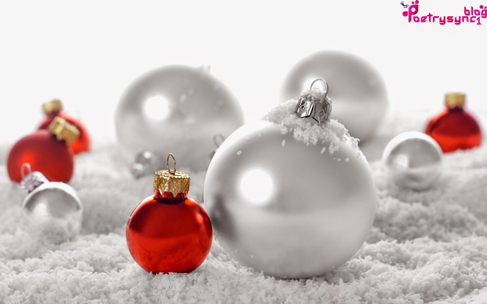 Christmas HD Wallpaper Wishes Balls, Ribbon, Gifts And Beautiful ...