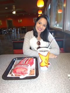 carl's jr burger - las vegas