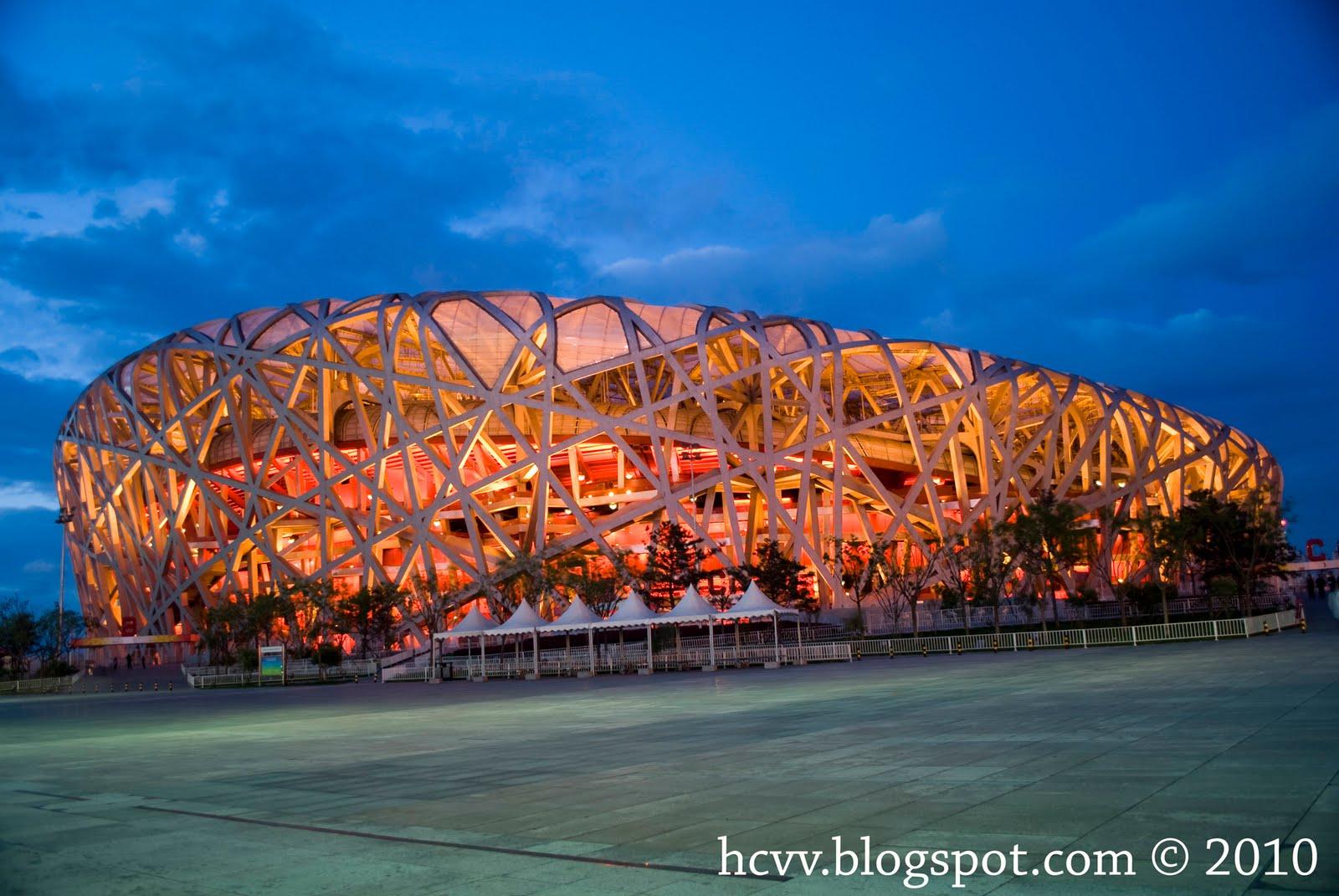 Giant bird s nest of china hcvvorld for The nest beijing